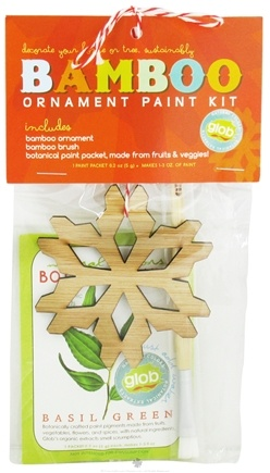 DROPPED: ColorKitchen - Glob Colors Bamboo Ornament Paint Kit - CLEARANCE PRICED