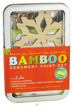 DROPPED: ColorKitchen - Glob Colors Bamboo Ornament Paint Set - CLEARANCE PRICED