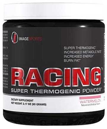 DROPPED: Image Sports - Racing Super Thermogenic Powder Watermelon - 30 Serving(s)