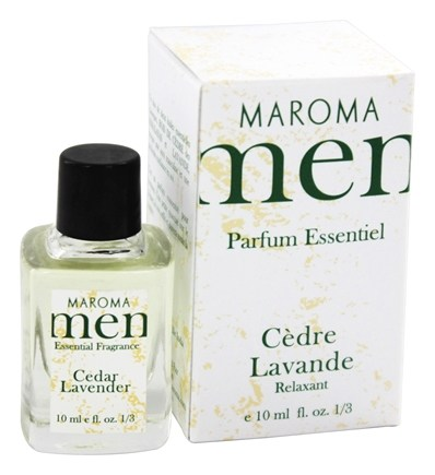 DROPPED: Maroma - Men's Essential Fragrance Cedar Lavender - 10 ml.
