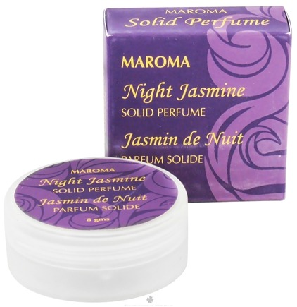 DROPPED: Maroma - Solid Perfume Night Jasmine - 8 Grams CLEARANCE PRICED