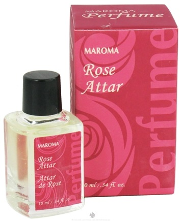 DROPPED: Maroma - Perfume Oil Rose Attar - 10 ml. CLEARANCE PRICED