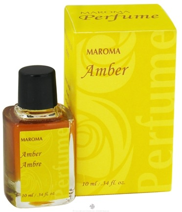 DROPPED: Maroma - Perfume Oil Amber - 10 ml. CLEARANCE PRICED