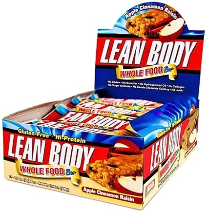 DROPPED: Labrada - Lean Body Whole Food Bar Apple Cinnamon Raisin - 1.76 oz. CLEARANCE PRICED