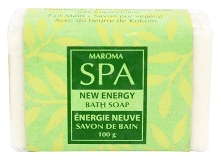 DROPPED: Maroma - Spa Soap New Energy - 100 Grams CLEARANCE PRICED