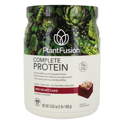 PlantFusion - Complete Plant Protein Chocolate Raspberry - 1 lb.