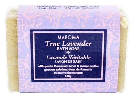 DROPPED: Maroma - Bath Soap True Lavender - 100 Grams CLEARANCE PRICED