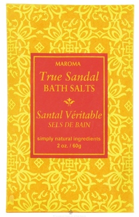 DROPPED: Maroma - Bath Salts True Sandal - 2 oz. CLEARANCE PRICED