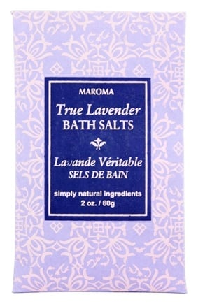 DROPPED: Maroma - Bath Salts True Lavender - 2 oz.