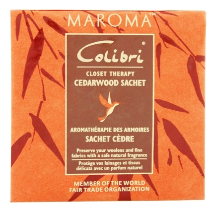 DROPPED: Maroma - Colibri Closet Therapy Sachet Cedarwood