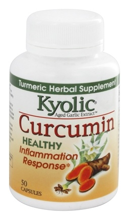 Kyolic - Curcumin Turmeric Herbal Supplement - 50 Capsules