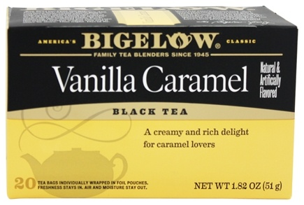 Bigelow Tea - Black Tea Vanilla Caramel - 20 Tea Bags