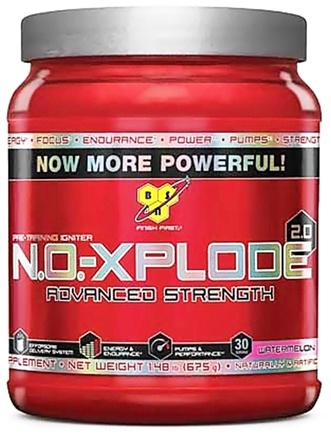 DROPPED: BSN - NO-Xplode 2.0 Advanced Strength Watermelon 30 Servings - 1.48 lbs. CLEARANCE PRICED