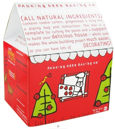 DROPPED: Dancing Deer Baking Co. - Gingerbread House All Natural Kit - 48 oz.