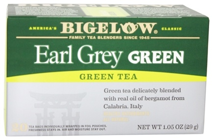 Bigelow Tea - Green Tea Earl Grey - 20 Tea Bags