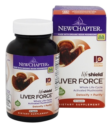 DROPPED: New Chapter - LifeShield Liver Force - 60 Vegetarian Capsules