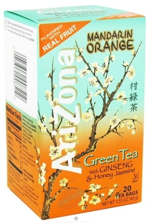 DROPPED: Bigelow Tea - Arizona Green Tea Mandarin Orange - 20 Tea Bags