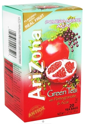 DROPPED: Bigelow Tea - Arizona Green Tea Pomegranate Acai - 20 Tea Bags