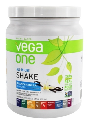 Vega - All-in-One Nutritional Shake French Vanilla - 15 oz.