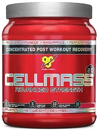 DROPPED: BSN - Cellmass 2.0 Advanced Strength Arctic Berry - 50 Servings - 1.06 lbs.
