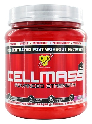 BSN - Cellmass 2.0 Advanced Strength Watermelon - 50 Servings - 1.06 lbs.