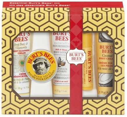 DROPPED: Burt's Bees - Essential Burt's Bees Kit with Holiday Sleeve Gift Set