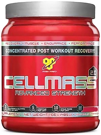 DROPPED: BSN - Cellmass 2.0 Advanced Strength Grape - 30 Servings - 10.2 oz.