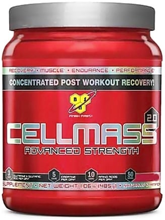 DROPPED: BSN - Cellmass 2.0 Advanced Strength Grape - 50 Servings - 1.06 lbs.