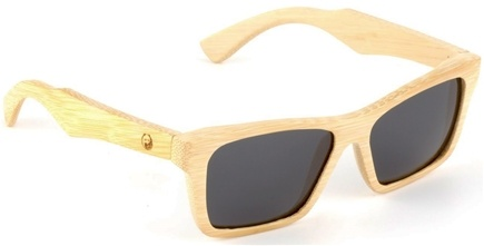 DROPPED: Wear Panda - Kennedy Handcrafted Bamboo Sunglasses Natural