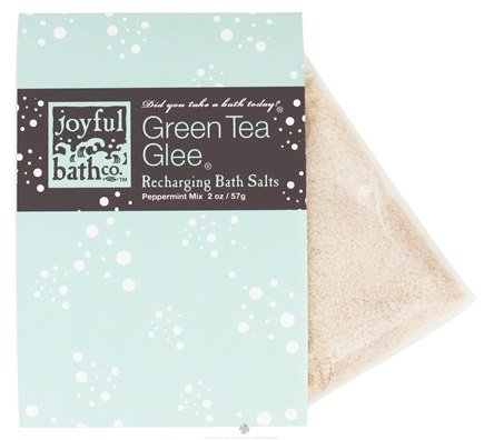 DROPPED: Joyful Bath Co - Bath Salts Recharging Green Tea Glee - 2 oz. CLEARANCE PRICED