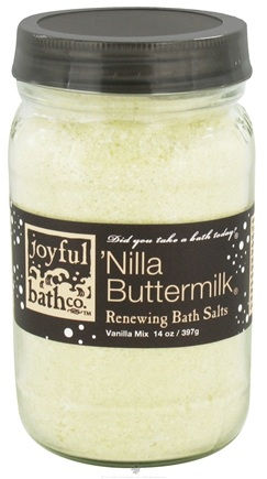 DROPPED: Joyful Bath Co - Bath Salts Renewing Nilla Buttermilk - 14 oz. CLEARANCE PRICED