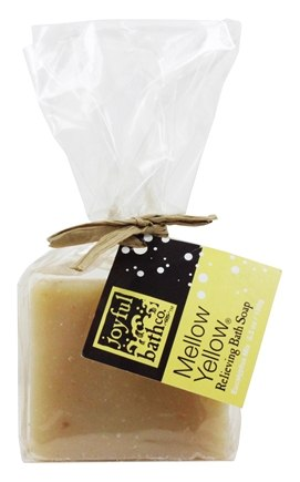Joyful Bath Co - Bath Soap Relieving Mellow Yellow - 5.3 oz. CLEARANCE PRICED
