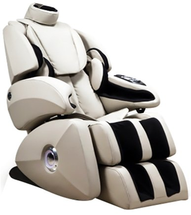 Osaki - Executive Zero Gravity S-Track Massage Chair OS-7075RC Cream