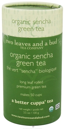 DROPPED: Two Leaves Tea Company - Green Tea Organic Sencha - 3.5 oz. Formerly Two Leaves and a Bud