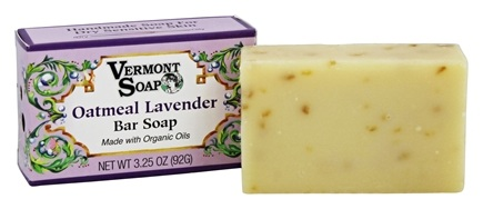DROPPED: Vermont Soapworks - Bar Soap Oatmeal Lavender - 3.25 oz.