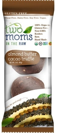 DROPPED: Two Moms in The Raw - Gluten Free Organic Cacao Truffle Almond Butter - 3 oz.