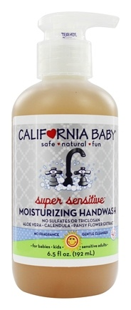 California Baby - Wash Up! Moisturizing Handwash Super Sensitive - 6.5 oz.