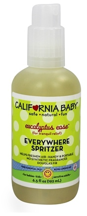 California Baby - Everywhere Spritzer Eucalyptus Ease - 6.5 oz.