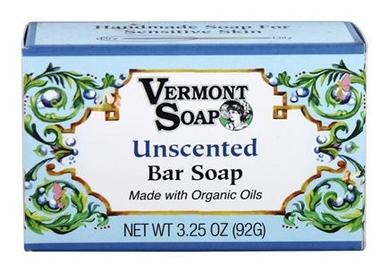 Vermont Soapworks - Bar Soap Unscented - 3.25 oz.