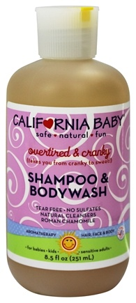 California Baby - Shampoo and Bodywash Overtired & Cranky - 8.5 oz.