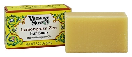 DROPPED: Vermont Soapworks - Bar Soap Lemongrass Zen - 3.25 oz.