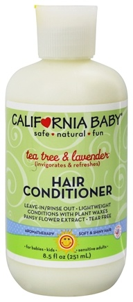 California Baby - Hair Conditioner Tea Tree & Lavender - 8.5 oz.