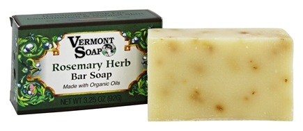 DROPPED: Vermont Soapworks - Bar Soap Rosemary Herb - 3.25 oz. CLEARANCE PRICED