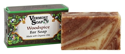DROPPED: Vermont Soapworks - Bar Soap Woodspice - 3.25 oz. CLEARANCE PRICED