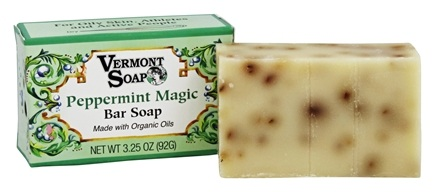 DROPPED: Vermont Soapworks - Bar Soap Peppermint Magic - 3.25 oz. CLEARANCE PRICED
