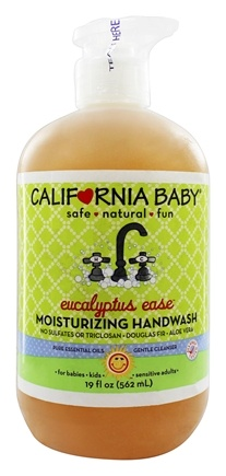 California Baby - Wash Up! Moisturizing Handwash Eucalyptus Ease - 19 oz.