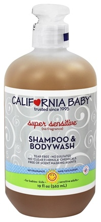 California Baby - Shampoo and Bodywash Super Sensitive - 19 oz.