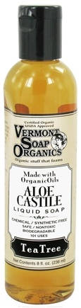 DROPPED: Vermont Soapworks - Aloe Castile Liquid Soap Tea Tree - 8 oz.