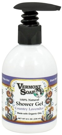 DROPPED: Vermont Soapworks - Shower Gel Country Lavender - 8 oz. CLEARANCE PRICED