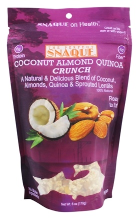 DROPPED: The Perfect Snaque - Coconut Crunch Almond - 6 oz.